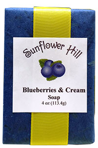 Blueberries and Cream Soap