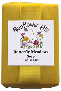 Butterfly Meadows Soap