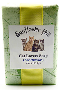 Cat Lovers Soap