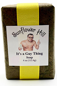 It's a Guy Thing Soap