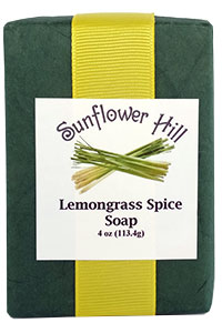 Lemongrass and Spice Soap