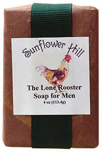 The Lone Rooster Soap