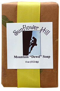 Mountain Dewd Soap