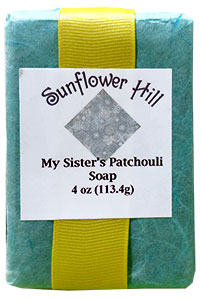 My Sister's Patchouli Soap