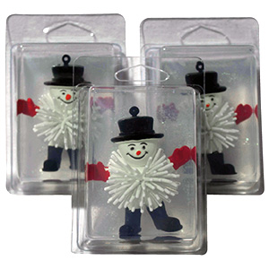 Holiday Snowmen Soap